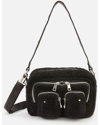 Nunoo Ellie Teddy Cross Body Bag - Black