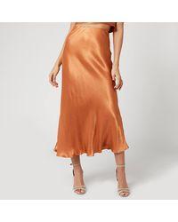 Bec & Bridge Lani Midi Skirt - Brown