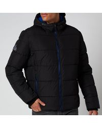 Superdry Sports Puffer Jacket - Black