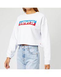 Levi's Graphic Raw Cut Crew Sweater