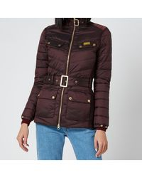 Barbour Gleann Quilt Coat - Brown