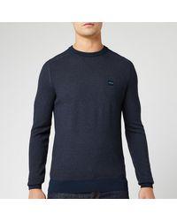 BOSS Akustor Knit Sweater - Blue