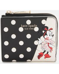 Kate Spade Minnie Mouse Small Bifold Wallet - Black