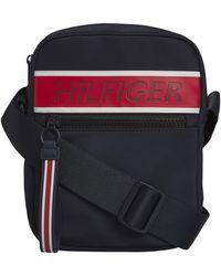 Tommy Hilfiger Tommy Mini Reporter Bag - Black