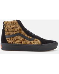 Vans Comfycush Tiny Cheetah Sk8-hi Reissue Sneakers - Black
