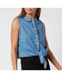 Levi's Rumi Button Shirt - Blue