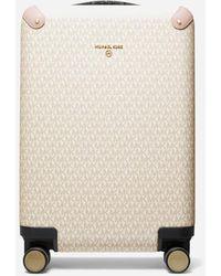 MICHAEL Michael Kors Travel Small Hardcase Trolley - Natural