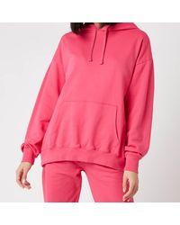 Les Girls, Les Boys Loopback Hoody - Pink