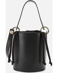 d39d2465f5 Whistles - Matilda Bucket Bag With Top Handle - Lyst