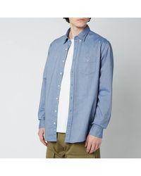 GANT Regular Fit Oxford Shirt - Blue