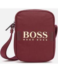 BOSS by Hugo Boss Pixel Cross Body Bag - Red