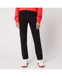 Levi's 501 Crop Jeans - Black