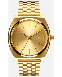Nixon The Time Teller Watch - Metallic