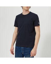 Champion Crew Neck T-shirt - Blue