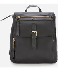 DKNY Cora Nylon Backpack - Black