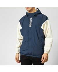 Russell Athletic Bradley Hooded Sport Jacket - Blue