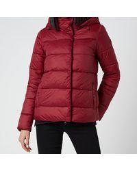 Barbour Limpet Quilt Coat - Red