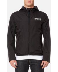 BOSS Green Jel Tech Jacket - Black