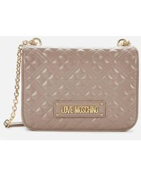 Love Moschino Quilted Shoulder Bag - Multicolour