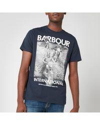 Barbour International Archieve Comp T-shirt - Blue