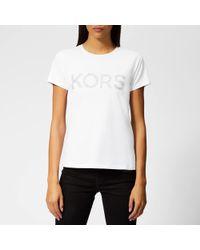 MICHAEL Michael Kors - Cotton T-shirt - Lyst