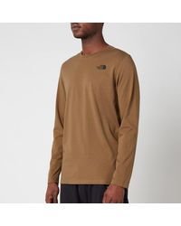 The North Face Easy Long Sleeve T-shirt - Green