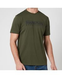 Napapijri Sebel Short Sleeve T-shirt - Green