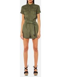 Superdry - Boho Utility Playsuit - Lyst