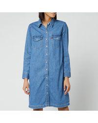 Levi's Levis Selma Denim Dress Blue