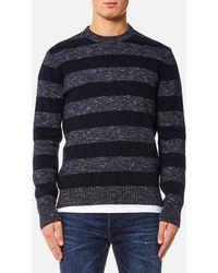 Edwin - Standard Stripes Sweater - Lyst