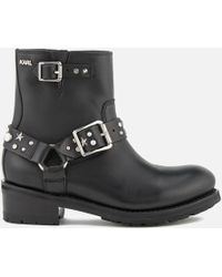 Karl Lagerfeld | Studded Boots | Lyst