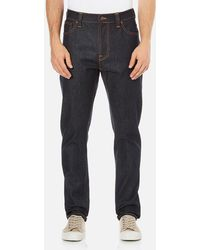 Nudie Jeans - Brute Knut Regular/tapered Fit Jeans - Lyst
