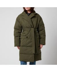 Whistles Trench Puffer Jacket - Green