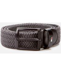 Tommy Hilfiger Denton Elastic 3.5 Belt - Grey