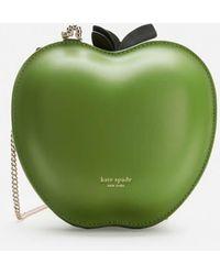 Kate Spade Apple Cross Body Bag - Green