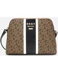 DKNY Whitney Logo Dome Cross Body Bag - Multicolour