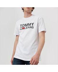 Tommy Hilfiger Classic Logo T-shirt - White