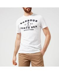 Barbour - Mizen Printed T-shirt - Lyst