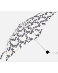 Radley Folk Dog Mini Telescopic Umbrella - Multicolour