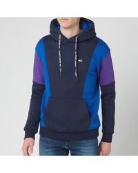 Tommy Hilfiger Colourblock Hoodie - Blue