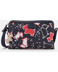 Radley - Speckle Dog Small Zip-top Cross Body Bag - Lyst