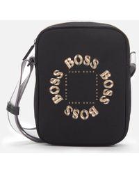 BOSS by Hugo Boss Pixel Tl Ns Zip Bag - Black