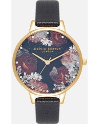 Olivia Burton Winter Blooms Demi Watch - Metallic