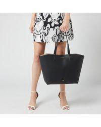 Lulu Guinness Crossgrain Ivy Tote Bag - Black