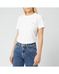 Tommy Hilfiger Heritage Crew Neck T-shirt - White