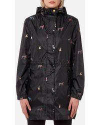 Joules   Golightly Waterproof Packaway Jacket   Lyst
