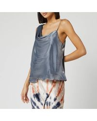 Free People Shimmy Shimmy Tank Top - Metallic