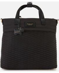Radley Penton Mews Medium Zip Top Backpack - Black