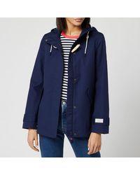 Joules Coast Waterproof Jacket - Blue
