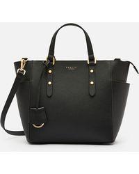 Radley Silk Street Medium Ziptop Multiway Bag - Black